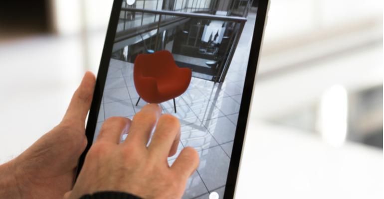 Tendências globais na produção de móveis - Realidade virtual