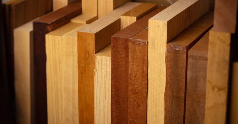 Tipos de madeira maciça