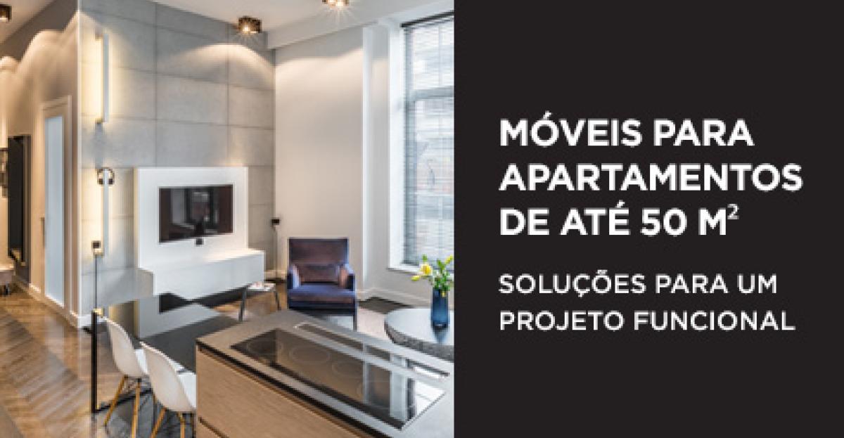 Ebook: Móveis para apartamentos de até 50 m²